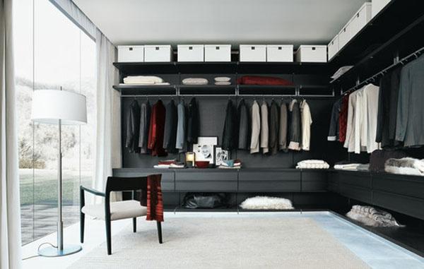 Şık Giyinme Odası Modelleri