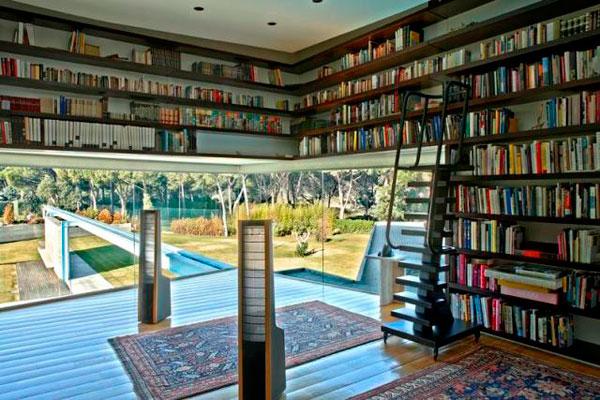 Ev Dekorasyonunda Kitaplık