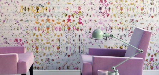 renkli duvar kağıdı
