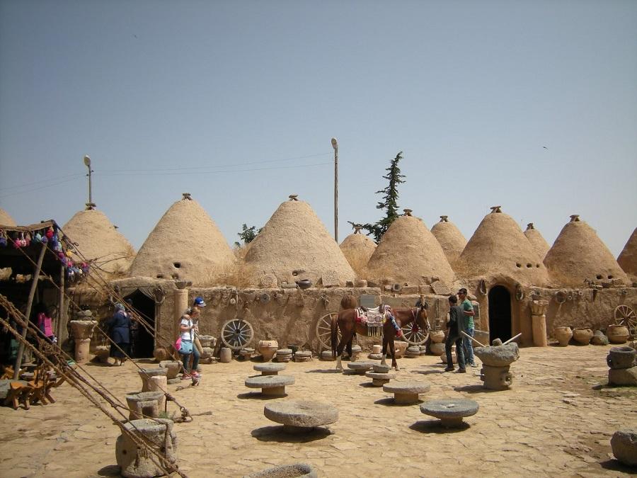 Şanlıurfa harran evleri