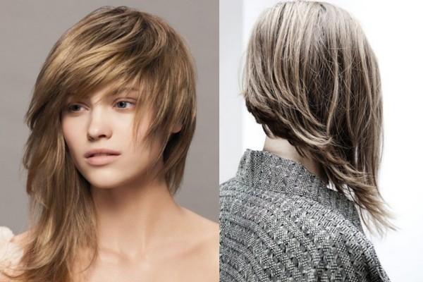asimetrik saç modeli