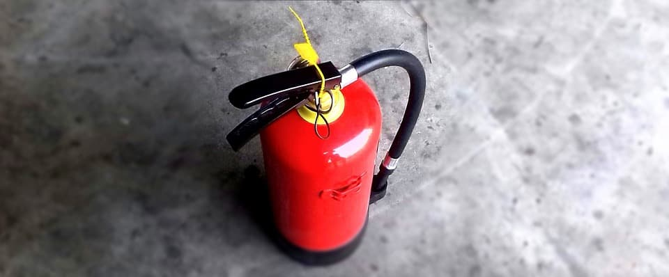 akıllı yangın söndürücü